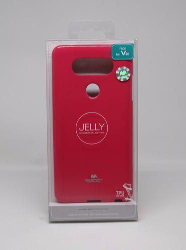 Protector Funda LG V20 Mercury Goospery Jelly Case Fiusha