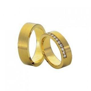 Aliança De Ouro Casamento E Noivado Londrina Oliver Joias