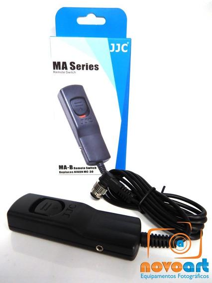 Disparador Jjc Para Nikon C/ Entrada N1 D1 D1x D1h D200 Etc
