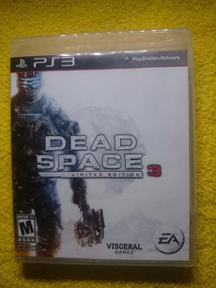 Dead Space 3 Limited Edition Ps3 Frete R$10 Faço Desconto!!