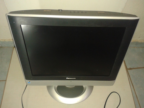 Tv Lcd Panasonic Tc-20la5 Com Defeito Na Tela