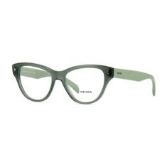 c62a7c58a Clipon Para Óculos De Grau Uv400 Polarizado Lentes Sol Preta · Armação  Prada Vpr23sv Uei-101