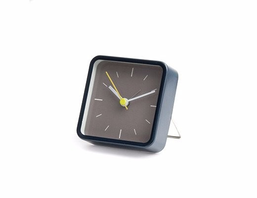 Reloj Con Alarma, Cuadrado Azul