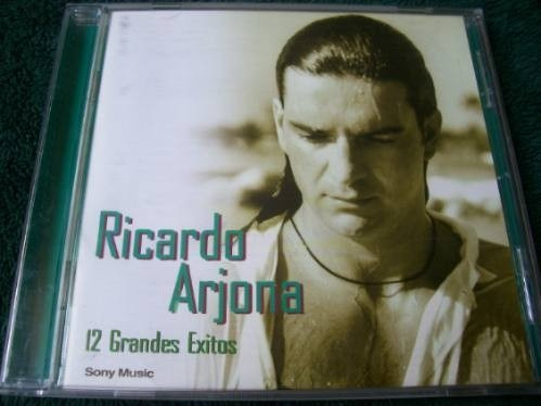 Ricardo Arjona 12 Grandes Exitos  Portugués Cd Nuevo Inedito