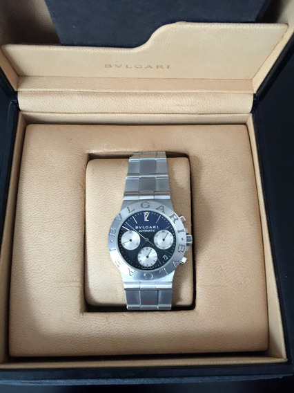 Bvlgari Diagono Chronograph Full Steel