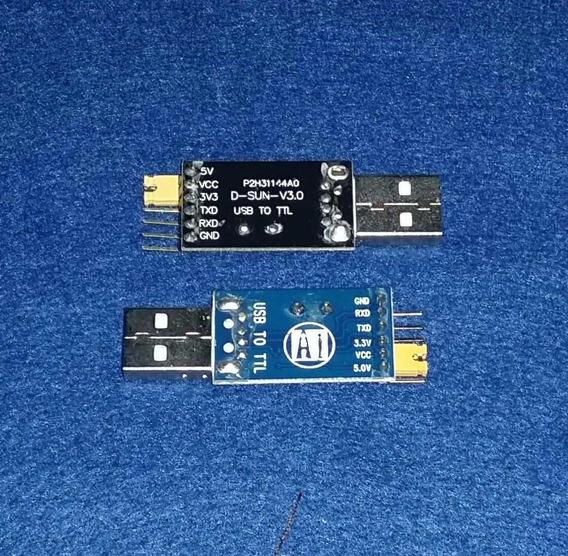 Adaptador Usb Serial Ttl Ch340g 6 Pinos S6