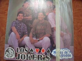 Lp Los Jokers, Nubes De Algodon,