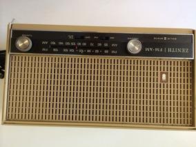 Radio Zenith Antigo Modelo A-410-l Funcionando