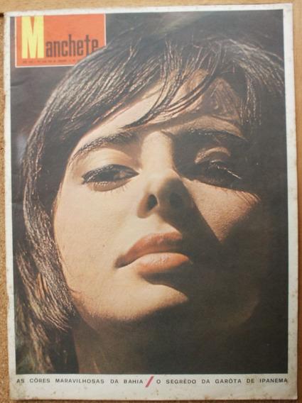 Manchete 1965 - Cinema Novo* Bahia* Cardinale* Virna Lisi*