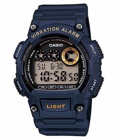 Relógio Casio Masculino W-735h-2avdf Original + Nf