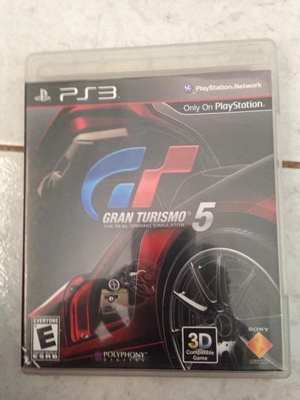 Jogo Original Ps3 Gran Turismo 5 Apenas 59,00