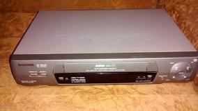 Video Cassete Panasonic Funcionando Parcialmente R$ 49,00