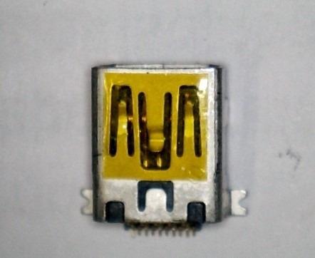 Conector Mini Usb, Conjunto C/ 5 Peças. Cel, Tablets,gps Etc