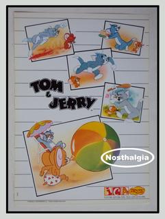 Poster - Tom E Jerry - Mgm - Anos 80 - F(616)