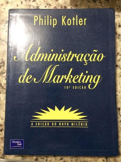 Adm De Mkt - Philip Kotler Em Perfeito Estado- Frete Gratis