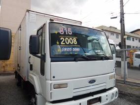 Ford Cargo 815 Baú 2008