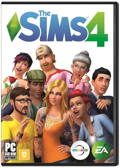 Jogo Novo Lacrado Da Ea Games The Sims 4 Para Pc