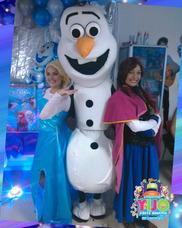 Show De Frozen,descendientes,vengadores,soy Luna,moana