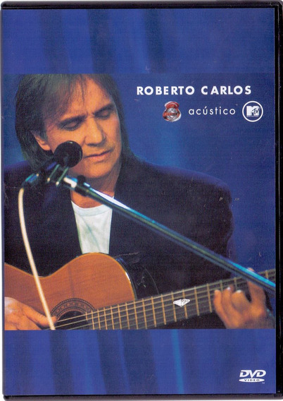 Dvd Roberto Carlos - Acústico Mtv - Novo***