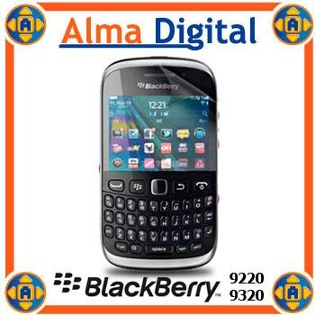 2x1 Lamina Protector Pantalla Blackberry Curve 9220 9320