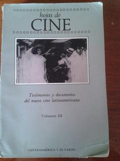 Hojas De Cine . Test. Y Doc Del Nuevo Cine Latinamericano