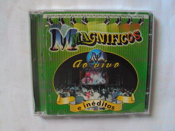 Cd Original - Banda Magíificos Ao Vivo E Inéditas
