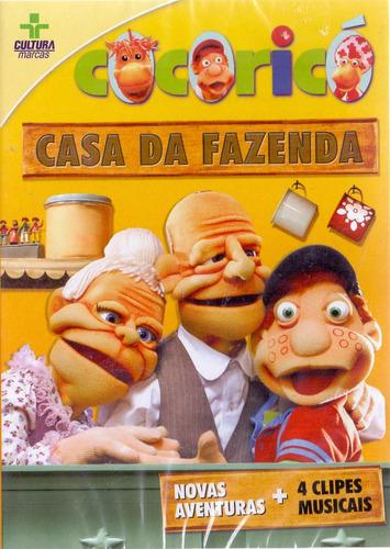Dvd Cocoricó - Casa Da Fazenda - Novo***