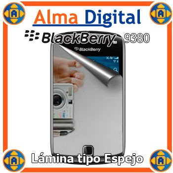 2x1 Lamina Protect Pantalla Espejo Blackberry Curve 9380
