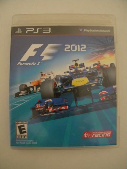 Fórmula 1 2012 Ps3 Mídia Física Original Impecável.