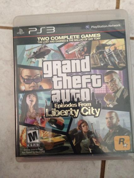 Jogo Original Ps3 Gta Libert City Apenas 59,00