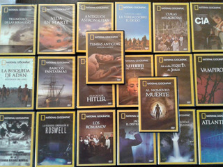 Coleccion Dvd De National Geographic
