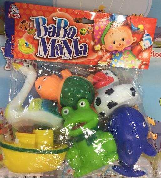 Mordedor Infantil Baba Mama Com 6 Pecas