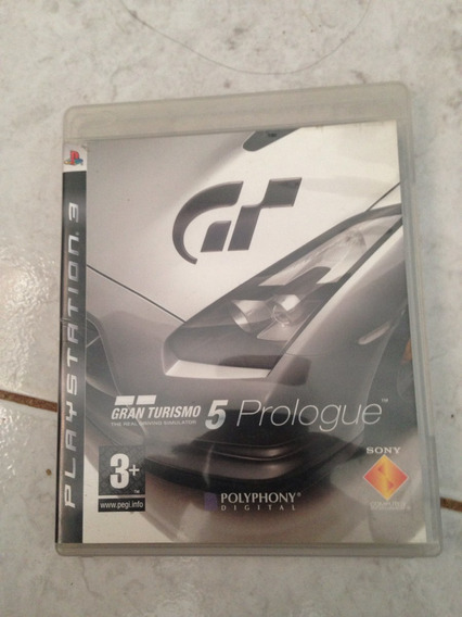 Jogo Original Ps3 Gran Turismo 5 Prologue Apenad 50.00