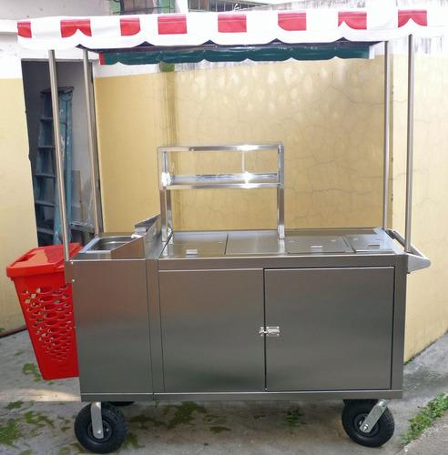 Carro Panchero Modelo Maxi (a Gas)