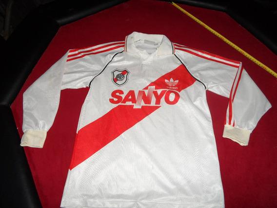 Camiseta River 94 Manga Larga Sanyo Talle Xs, Futbol