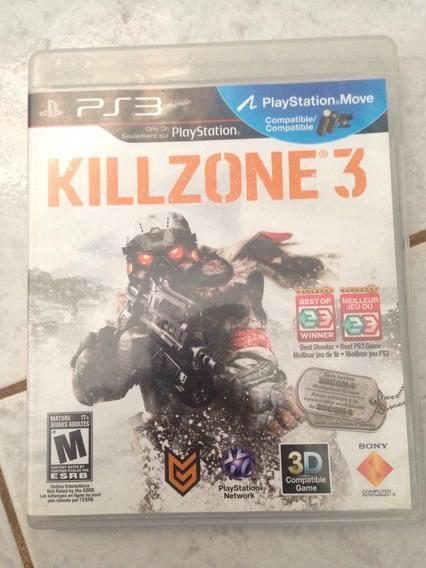 Jogo Original Ps3 Killzone 3 Apenas 50,00