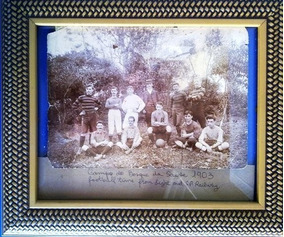 Time Football 1903, Foto Original Bosque Saude,são P Railway
