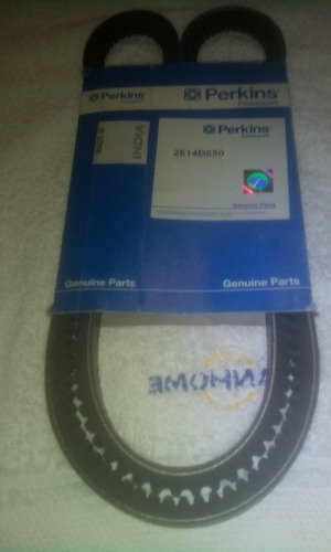 Correa Del Alternador Para Perkins 1104 Cat 3054 2614b650
