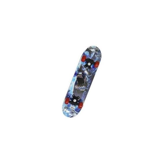 Skate Infantil Top Reforçado Tam: 60x 15cm Ilustrado