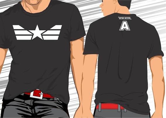 Camisa Camiseta Capitão América #frete Grátis#