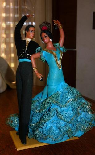 Pareja Bailarines Españoles De Coleccion