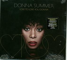 Donna Summer - Love To Love You Donna - Cd Original Digipack