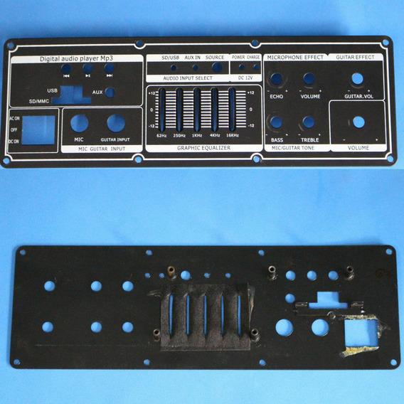 Painel Frontal Metalico Para Caixa Amplificada Lenoxx Ca-311