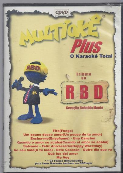 Dvd Original Multiokê Tributo Ao R B D (cx 20) Ok