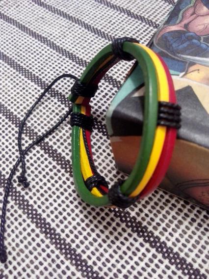 Pulseira Nas Cores Do Reggae