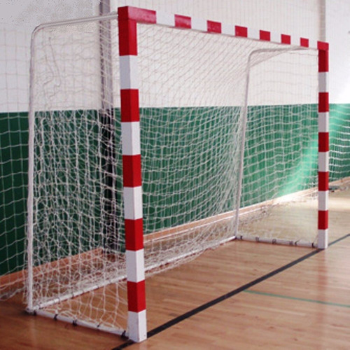 Imagen 1 de 9 de 2 Red Arco Papi Futbol Salon Futsal Handball 3x2m Cajon 50cm