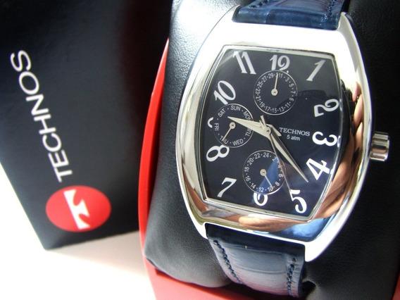 Relógio Technos Multifunção 50m - 6p27.am - Original!