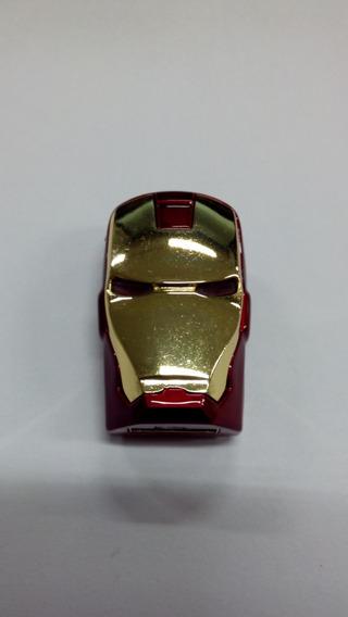 Pen Drive 8gb Iron Man Homem Ferro Marvel Frete Grátis