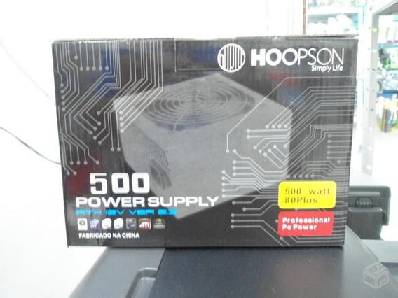 Fonte Atx Hoopson Simply Life 500w Real Px500