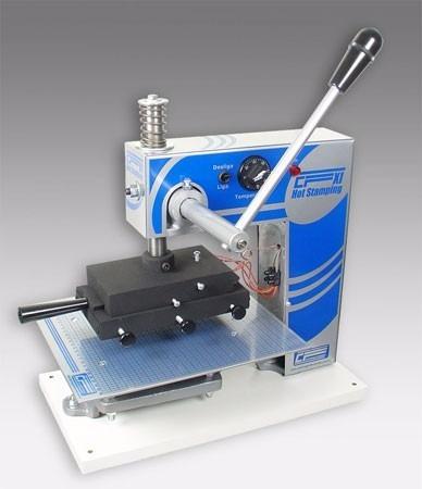 Imagem 1 de 6 de Máquina Para Gravação Em Hot Stamp Capa Dura Encadernação